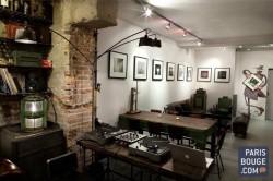 La Flaq est un lieu atypique tout près de Beaubourg, sur 3 niveaux. Expositions de jeunes artistes, dégustation de spécialités italiennes