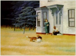 Edward Hopper, Cape Code evening,