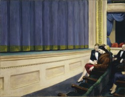 Edward Hopper, First row orchestra