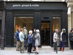 Façade de la Galerie, rue Guénégaud