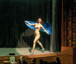 Edward Hopper, Girlie-show