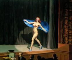 Edward Hopper, Girlie-show