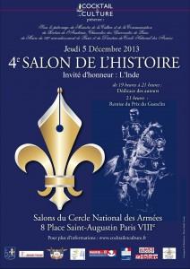Affiche Salon de l'Histoire 2013 avec remise du Prix du Guesclin