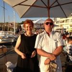 Karin avec Michel Quint