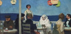 Edward Hopper, Soir bleu, 1914, Whitney Museum of American Art, New York