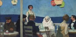 Edward Hopper, Soir bleu, 1914, Whitney Museum of American Art, New York