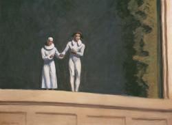 Edward Hopper, Two comedians