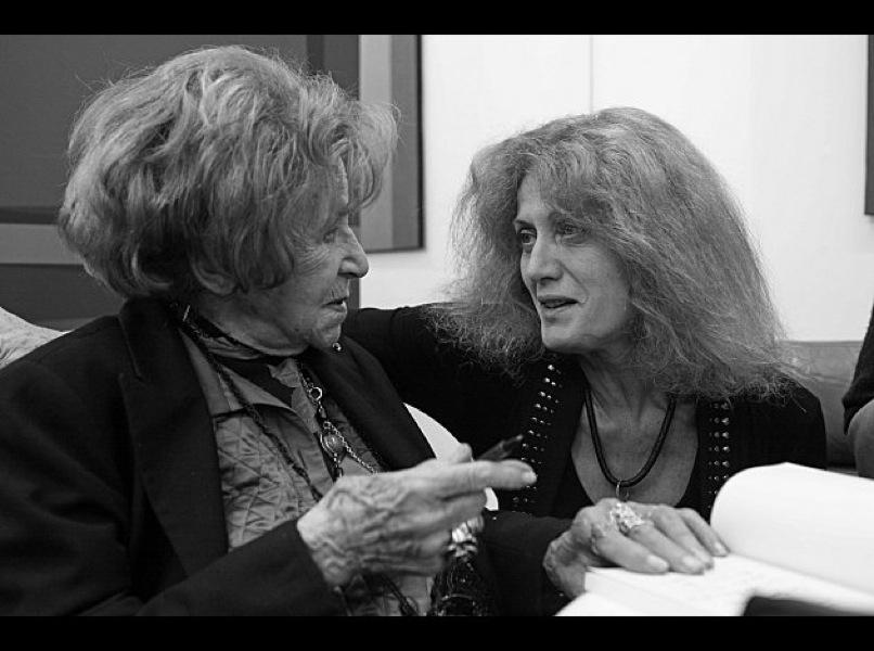 Dominique Desanti et Noëlle Chatelet