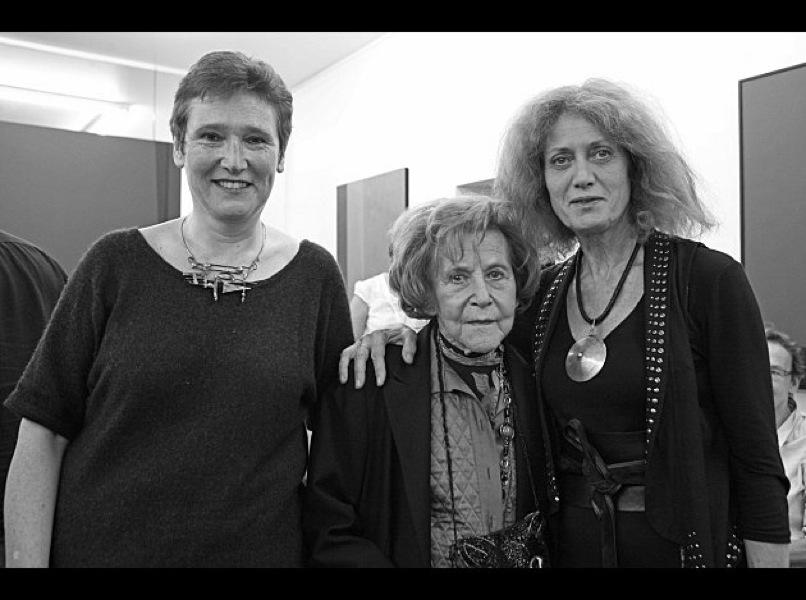 avec Dominique Desanti et Noëlle Chatelet