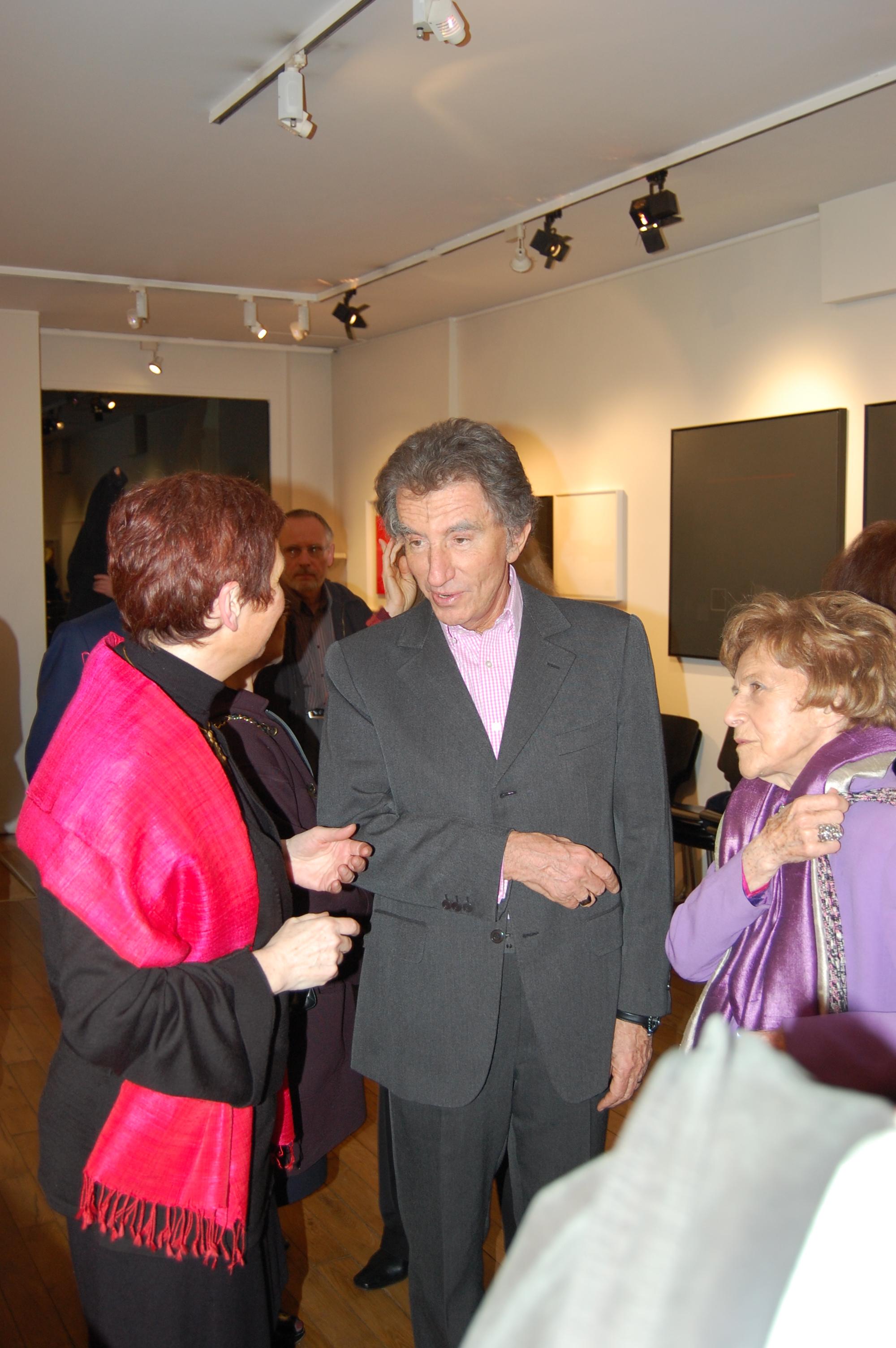 Avec J. Lang et Dominique Desanti