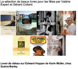 Gérard Collard parle de Lever de rideau sur Edward Hopper sur France Info