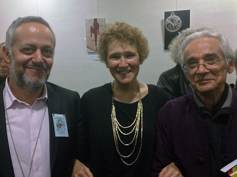 Avec A. Créhange et Marcel Bénabou (Oulipo)