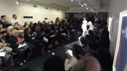 défilé de mode : la mariée