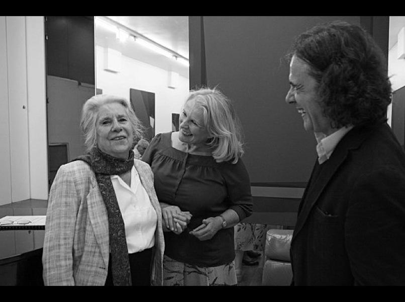 Madeleine Malraux, Marie-Christine Barrault et Charles Gonzalès