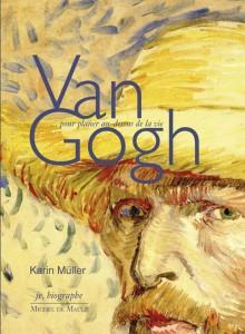 Sur la couverture du livre se trouve l'auto-portrait de Van Gogh, avec son chapeau de paille