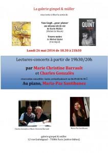 Invitation lundi 26 mai _ Karin Müller & Michel Quint dédicaceront leurs ouvrages